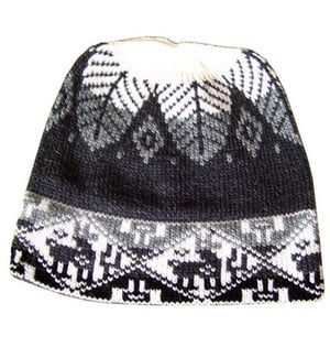 Chullo Alpaca Knitted Hat #10