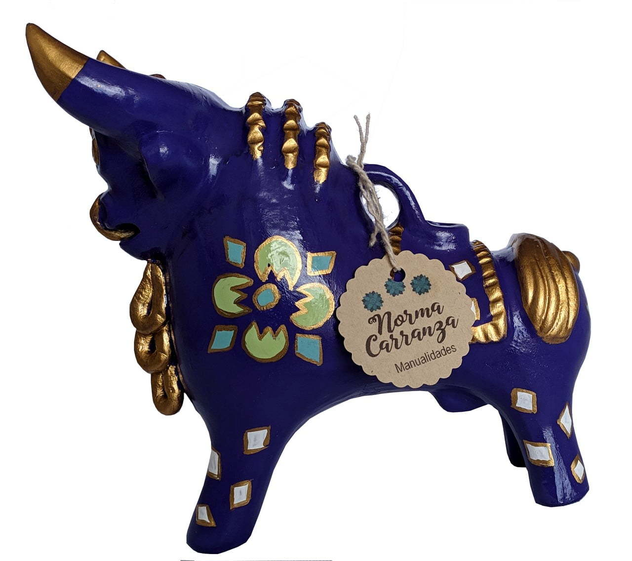 Torito de Pucara – Light Blue